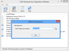 CAD Password Racovery Tool