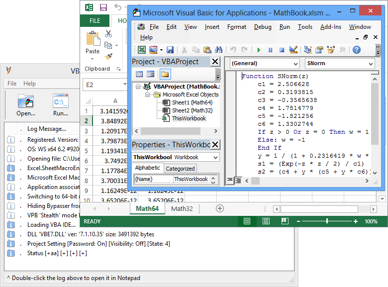 VBA Recovery Toolkit by Thegrideon Software